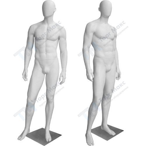 Белые мужские манекены